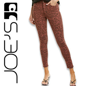 Joe's Jeans The Charlie Twisted Leopard Sequoia